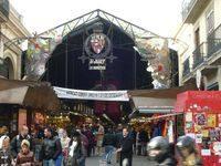 Известный рынок La Boqueria
