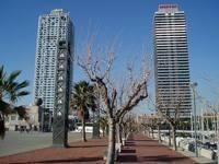 Башни Mapfre и Hotel Arts