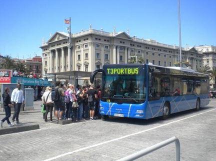 Port bus портовый автобус T3