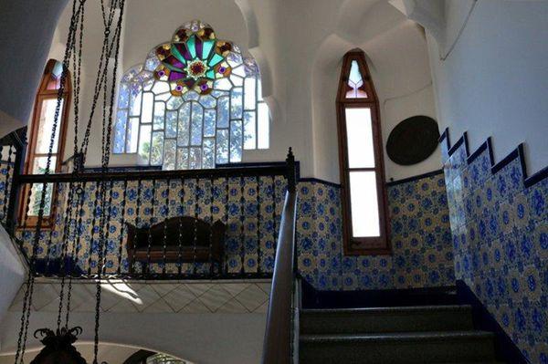 Замок Беллесгуард Антонио Гауди - 12