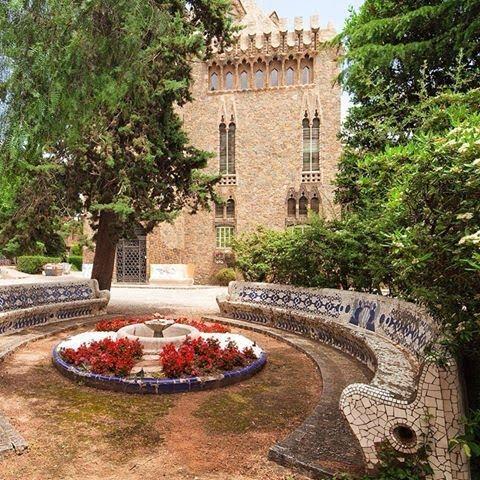 Замок Беллесгуард Антонио Гауди - 5